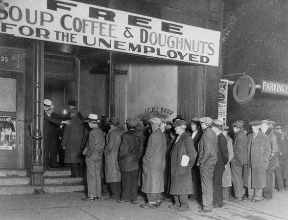 great-depression-food-line